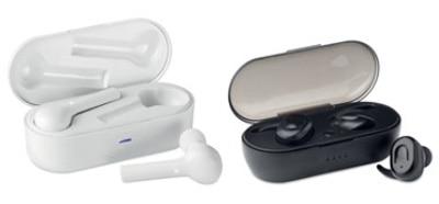 Audífonos inalámbricos y auriculares para personalizar como un regalo corporativo