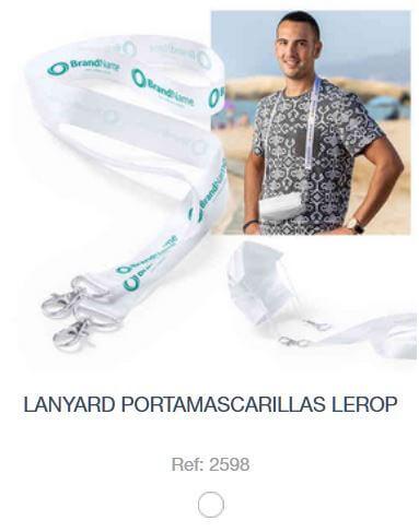 Lanyard Porta Macarilla LEROP