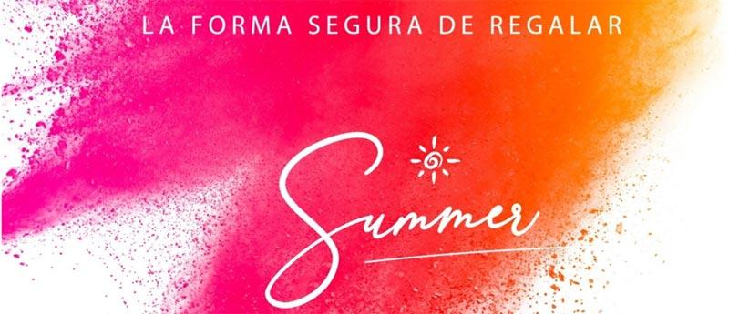 Catalogo de regalos promocionales para verano.