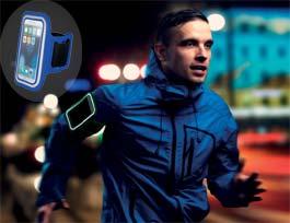 Brazalete deportivo para el smartphone, personalizable para regalo promocional.